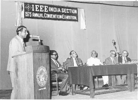 Mr Hiriyannaiah addressing ACE'75