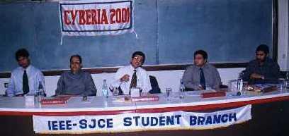 Cyberia-2001, Panel discussion: Mr Akshay, Dr KK Murthy, Mr Ramanuj Valmiki, Mr Arjuna rao Chavala