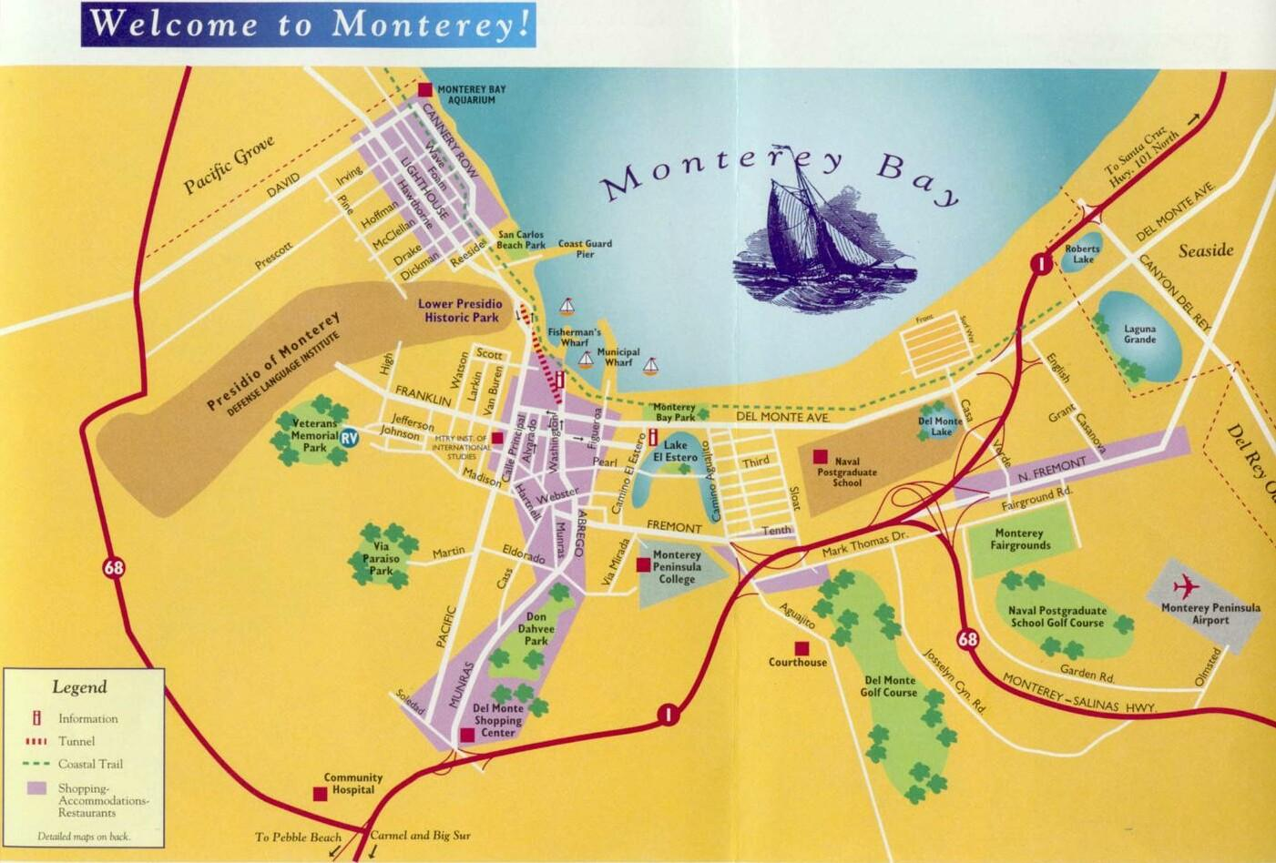... ivec 2001 ivec 2000 monterey area courtesy city of monterey california