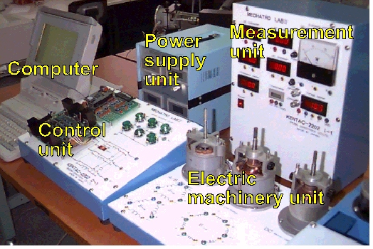 Untitled overall view of mechatro lab 2 the stators seen are a distributed winding type a six coil concentrated winding type and a two pole permanent magnet type ccuart Choice Image
