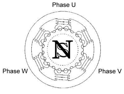 6 Lead 3 Phase Motor