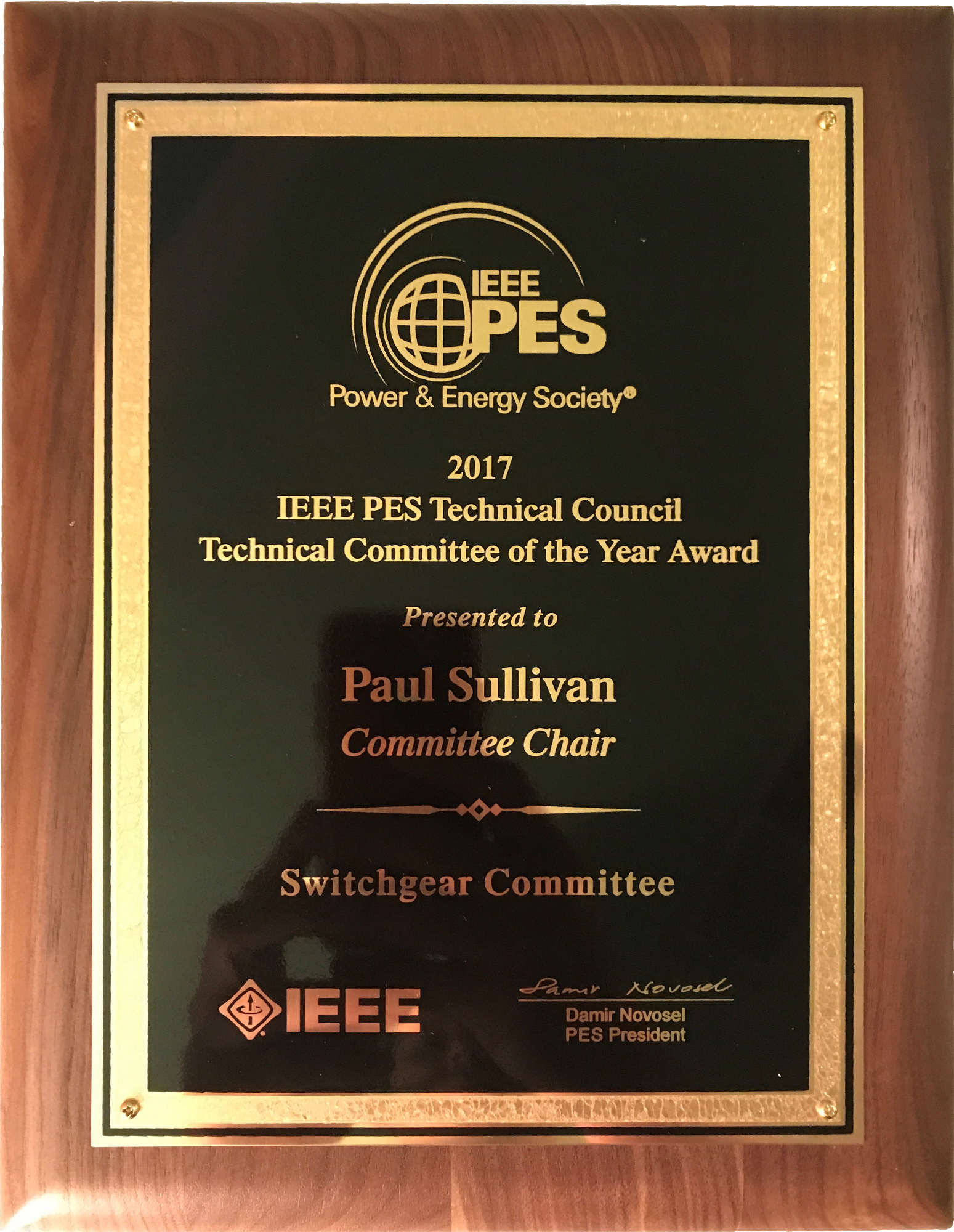 IEEE PES Switchgear Committee
